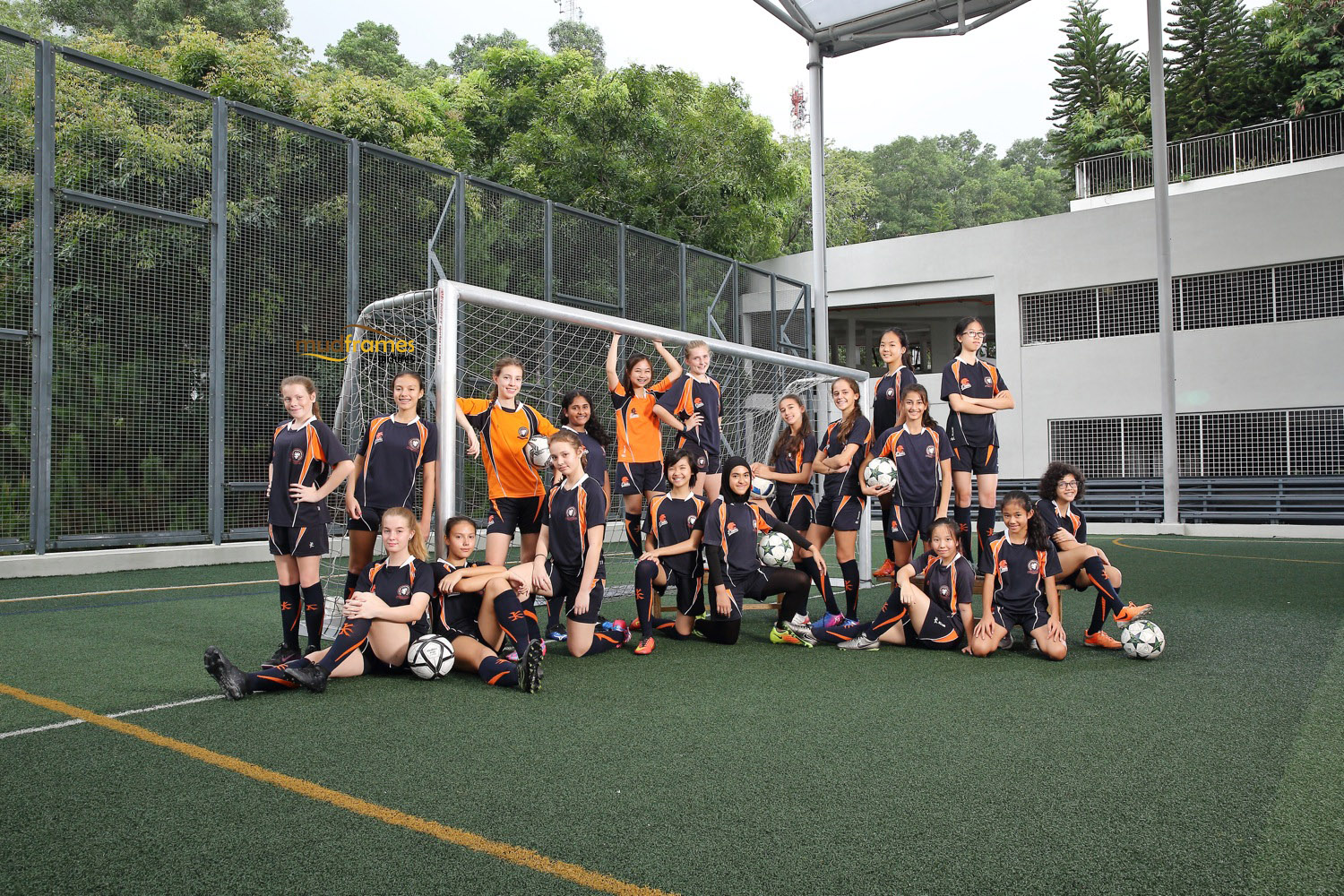 BSKL Football Group Shot