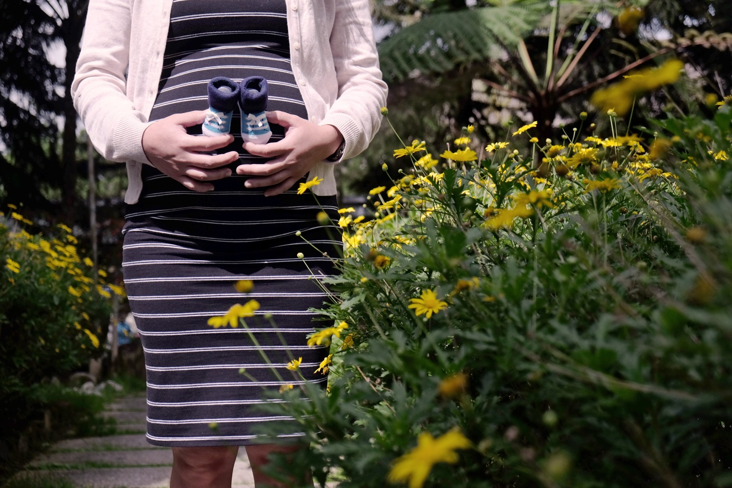 Maternity photography at Cameron Highlands