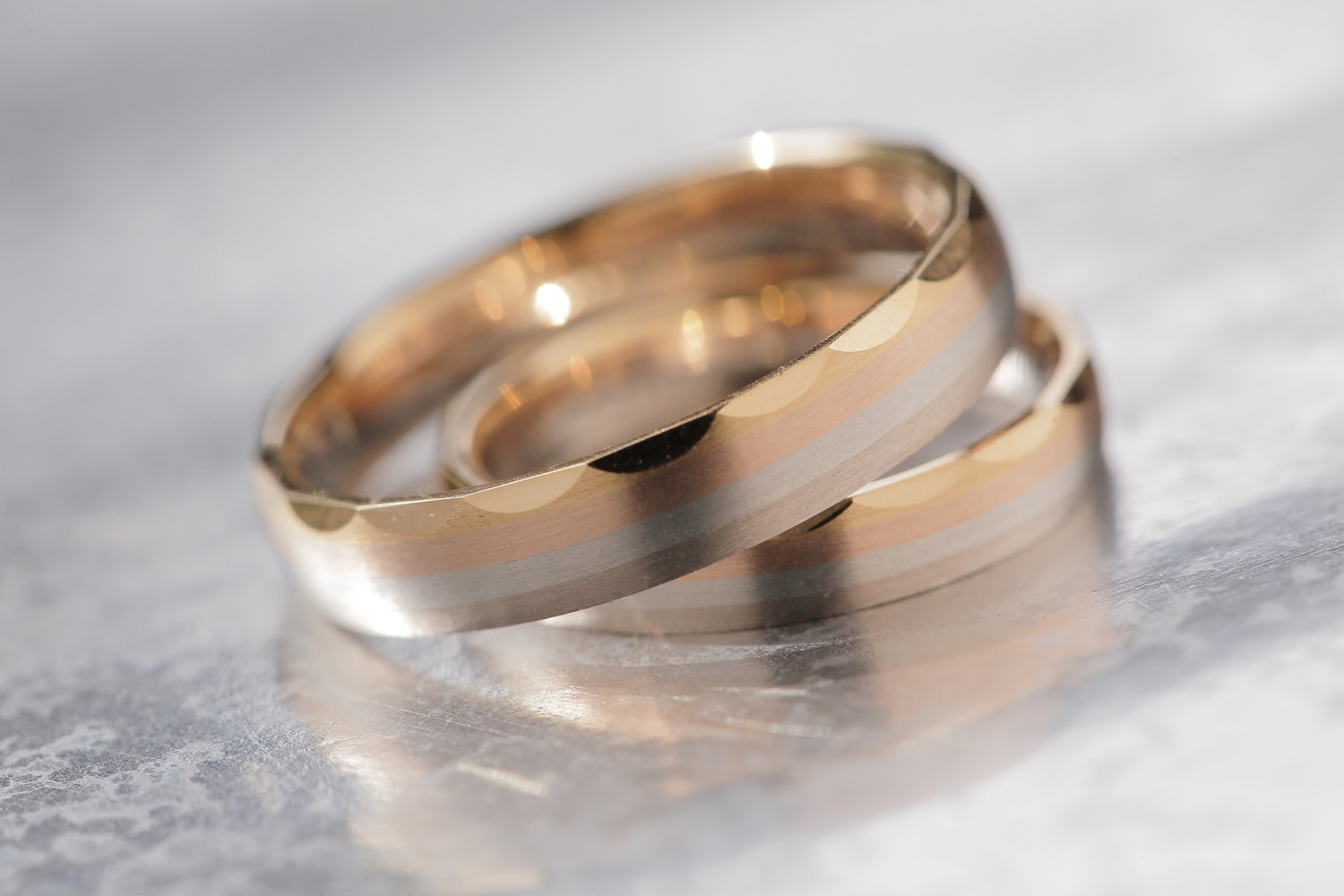 Closed-up Pre-Wedding Ring Shot