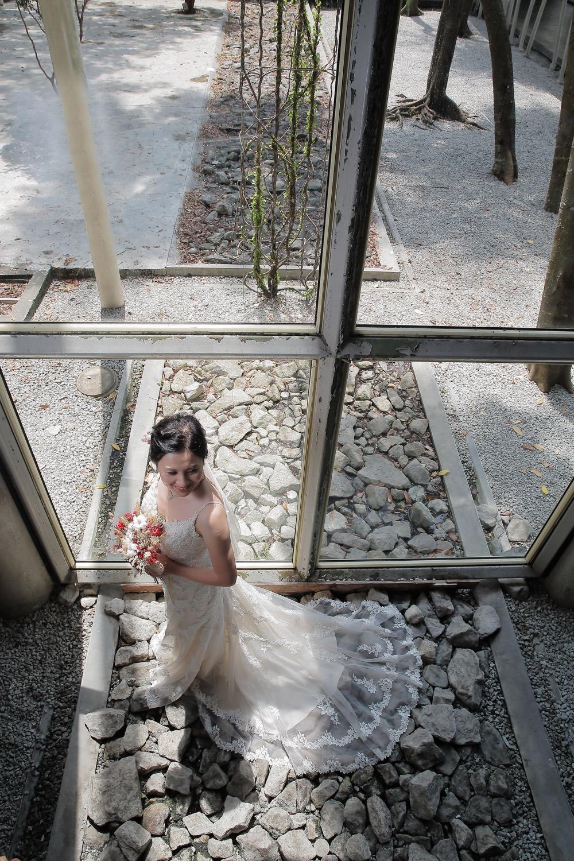 Kelvin and Pauline Pre-Wedding Outdoor Photo Shoot at KLPAC