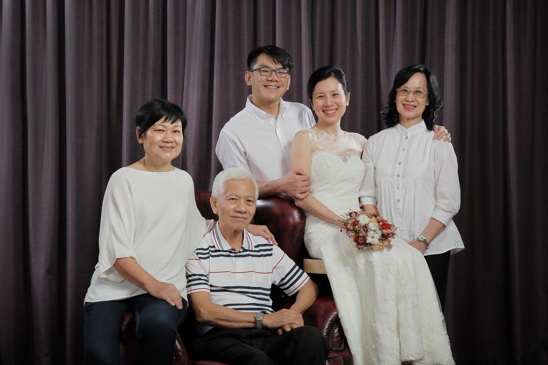 Indoor Family Photo Shoot at Jaya One Studio