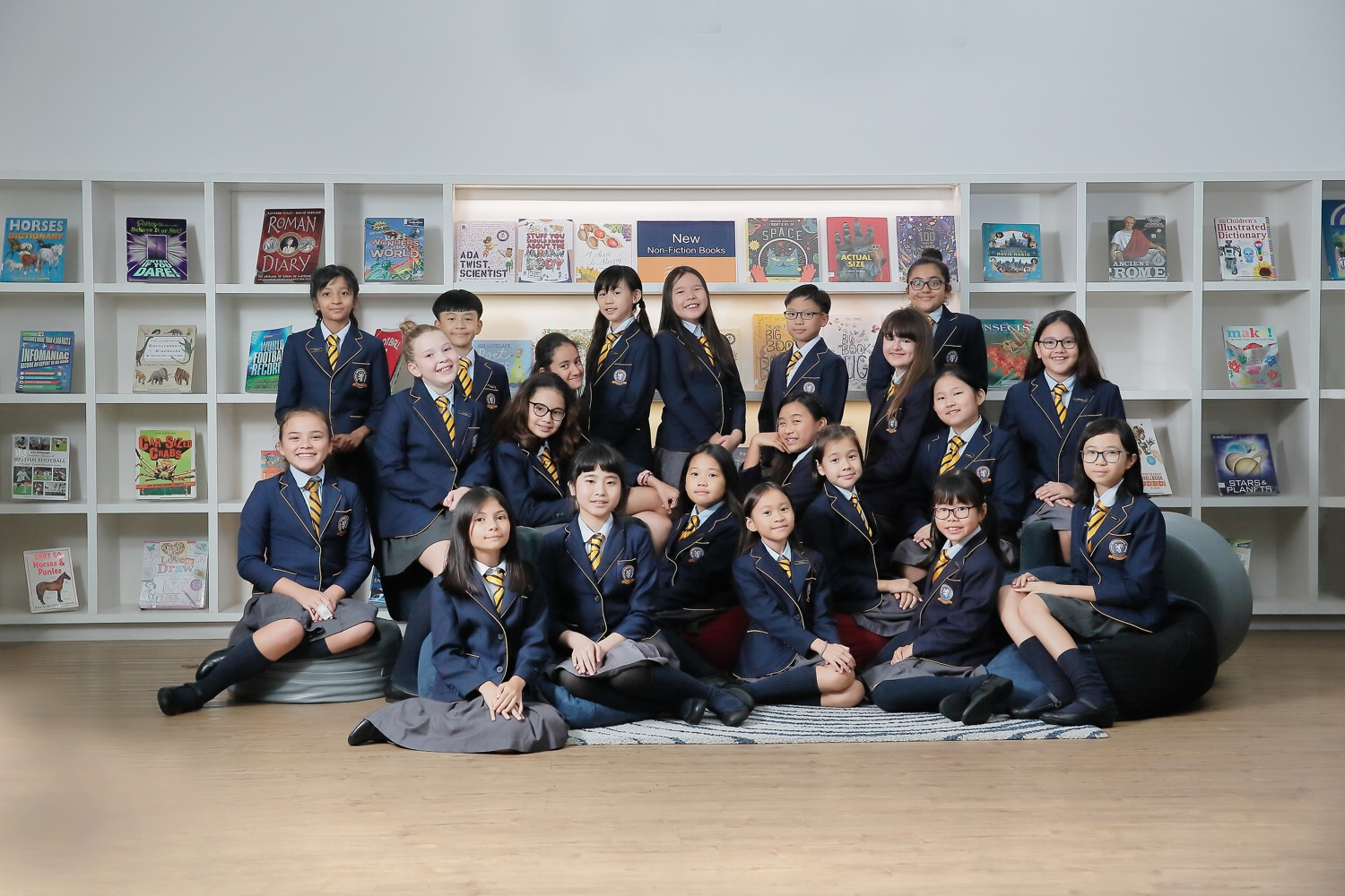 BSKL Primary Librarian Group Pose