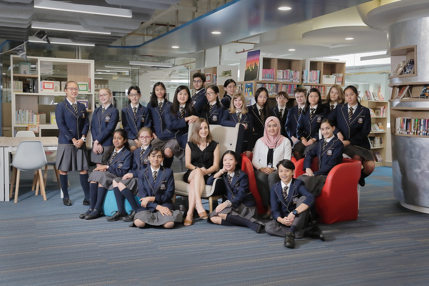 BSKL Secondary Librarian Group Pose