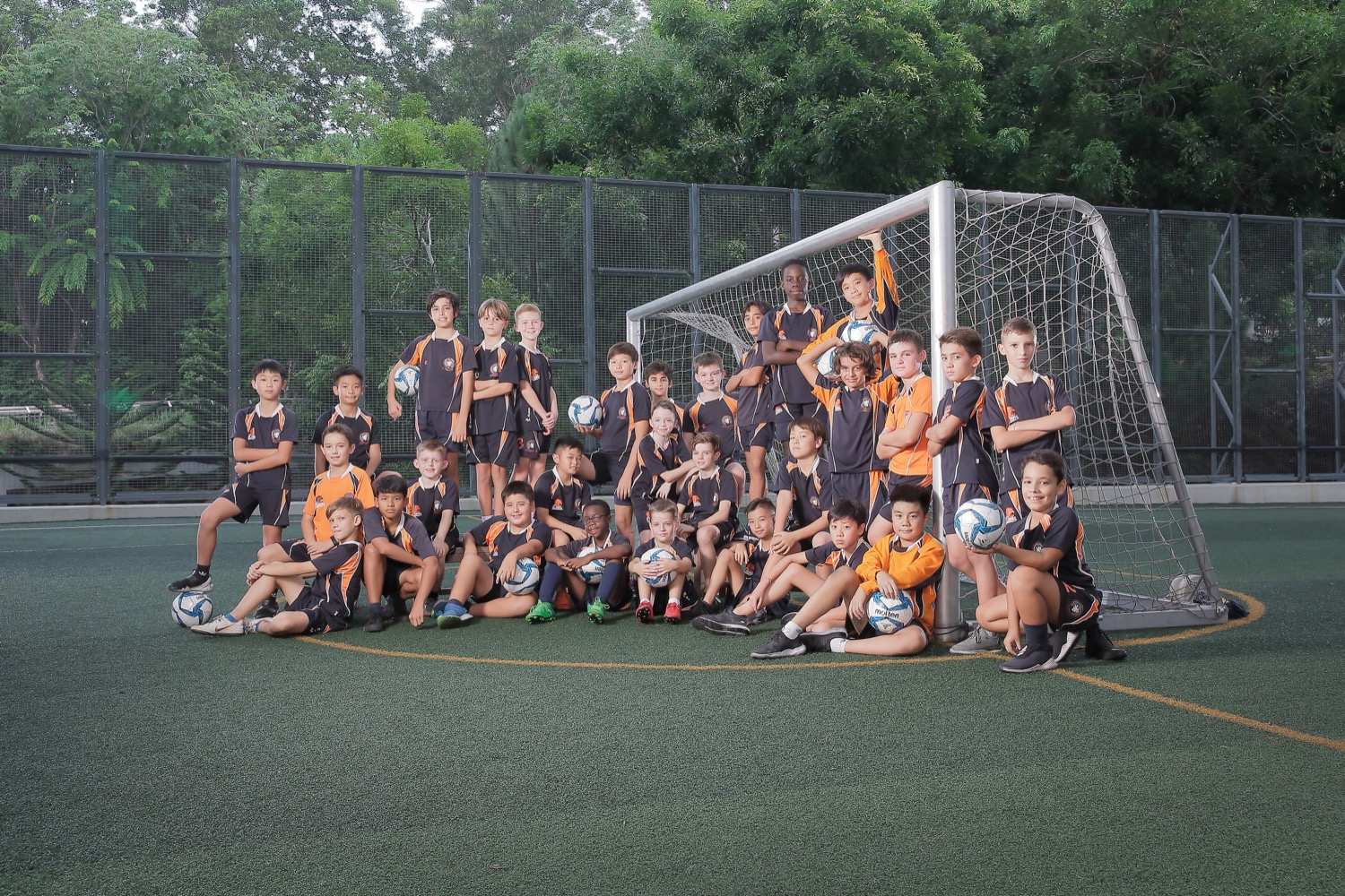 BSKL Sports Group Pose (Soccer Team)