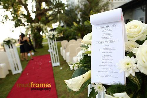 Garden Wedding Reception At Eastern Oriental Hotel
