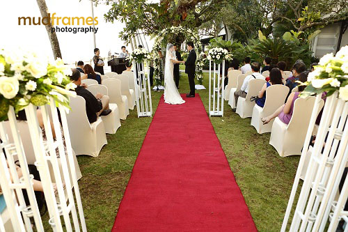Garden Wedding Reception At Eastern Oriental Hotel