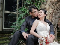 Kelvin and Pauline Pre-Wedding Outdoor Photo Shoot at KLPAC